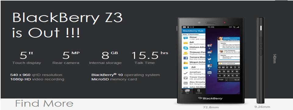 BlackBerry-Z3-specs