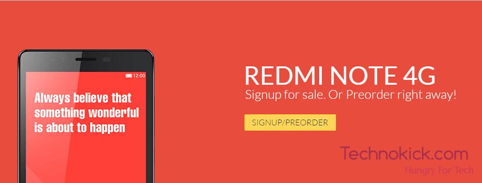 Overcartt Redmi Note 4G