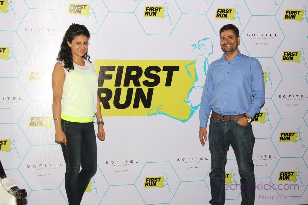 (L-R) Gul Panag Launches The FirstRun Application At SoFIT, Sofitel Mumbai BKC  (2)