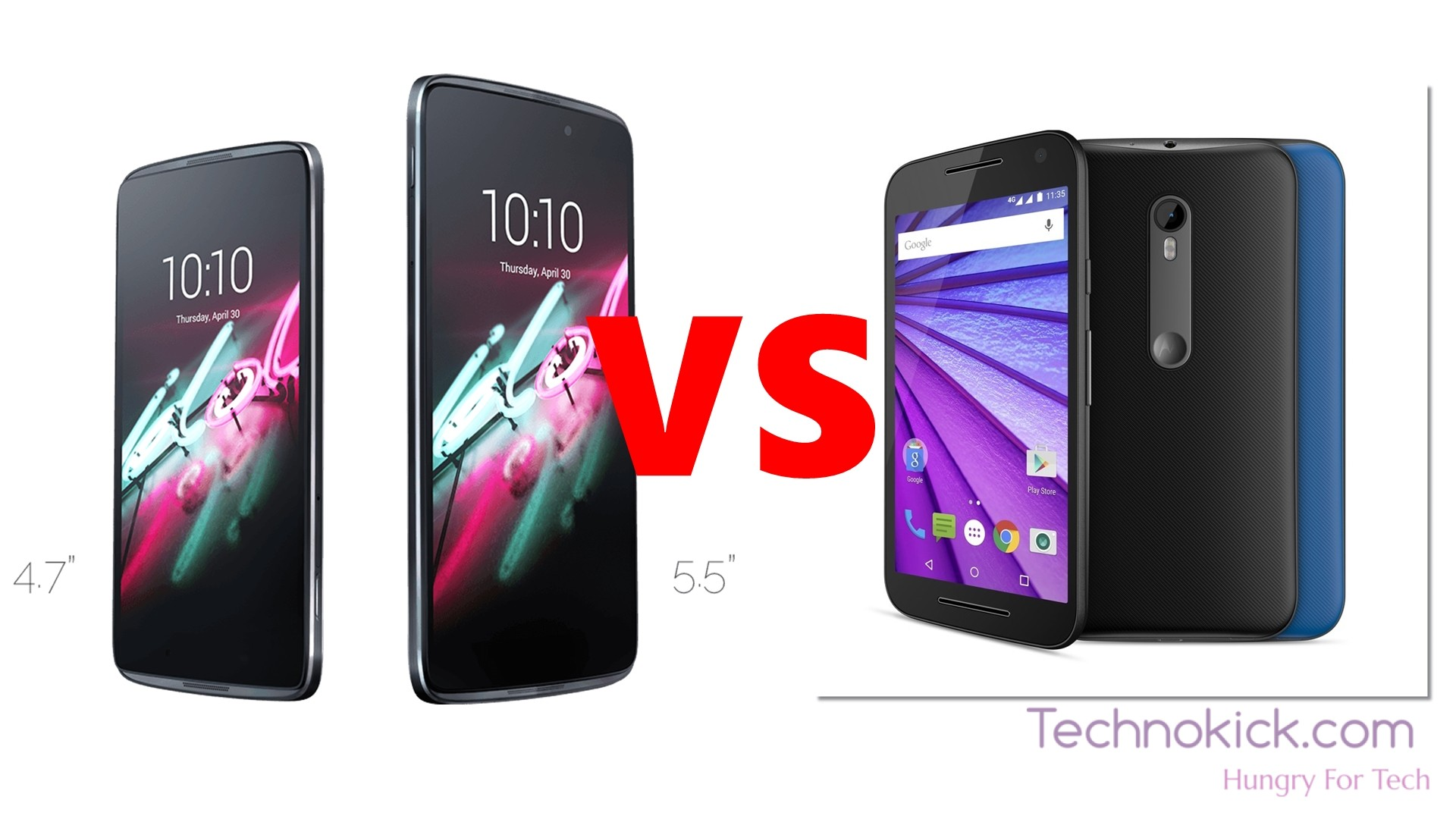Ultimate Battle: Alcatel Idol 3 vs Moto G3