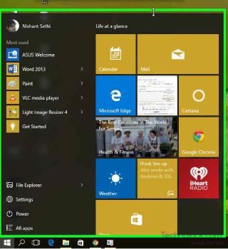 windows 10-Start