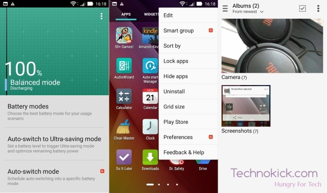 Asus Zenfone Zoom Zen UI Screenshots