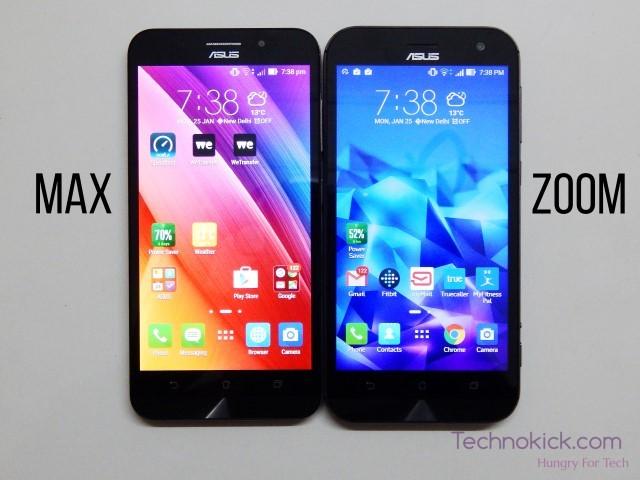 Zenfone max vs zenfone zoom (Custom)