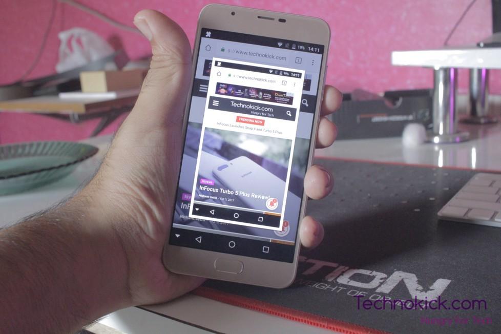 screenshot on Infocus Turbo 5